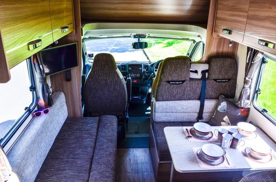 RV rental in London